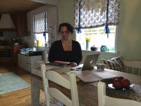 Kjøkkenhjelpen: Hilde Langvann har de siste årene drevet Hjelpekilden fra kjøkkenet i Råde. Foto: Privat