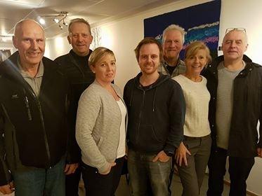 Opposisjonen i Rana. Fra venstre: Allan Johansen (FrP), Johan Petter Røssvoll (Sp), Hilde Lillerødvann (Sp), Mats Hansen (Venstre), Alf Helge Straumfors (Rødt), Anne Sofie Urke (KrF), Karl Hans Rønning (Sp)