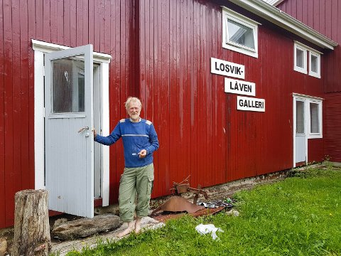 Jonny Losvik (62) fra Gjerøy hedres nå med Rødøyprisen, som er ildsjelpris som deles ut annenhvert år av Rødøy kommune.