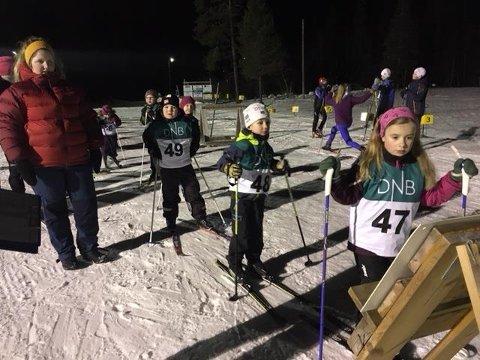 På startstrek nummer 47, 48 og 49; Linea Brekke Rasmussen, Bendik Strandjord og Millian A. Krokstrand.
