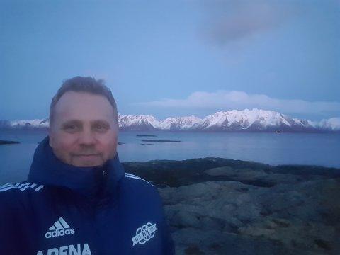 KLAR: Tore Arne Jakobsen er ansatt som trener i Rana FK. Han kommer opprinnelig fra Melbu i Vesterålen.