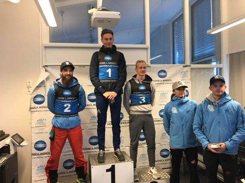 Robin Pedersen kunne klatre øverst på pallen i helgens norgescup.