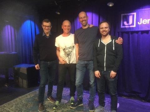 F.v. Hans Petter Skjæran, Lars Sivert Larsen, Kjell Joar Petersen-Øverleir og Mats Hansen.