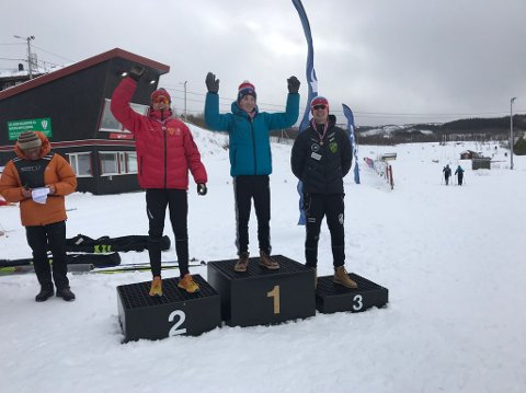 GOD SOM GULL: Nesten et dusin lokale løpere tok pallplass i de to rennene i KM på ski. Foto: Nancy Stien Schreiner