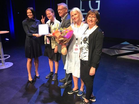 Under Arendalskonferansen ble Træna kommune tildelt Årets innovasjonspris 2018.