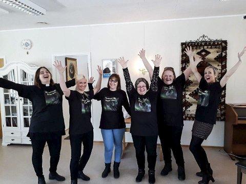 Northern Light Gospel Choir: Disse jentene ønsker velkommen til  flere kormedlemmer som kan dele gleden med å synge.