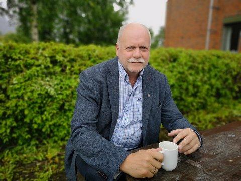 Ordfører Jann-Arne Løvdahl i Vefsn.
