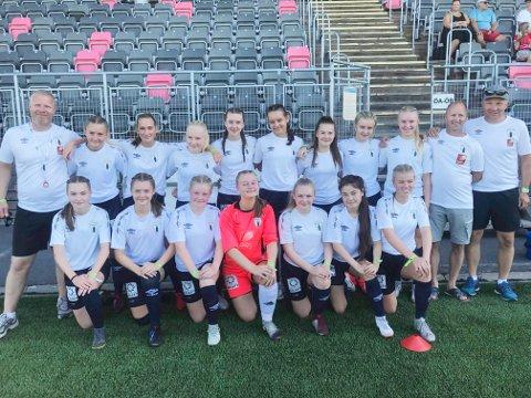 Rana FKs J15-lag er et friskt pust innen jentefotballen lokalt og lørdag spiller jentene kretsfinale på Sagbakken. Motstander er Grand.