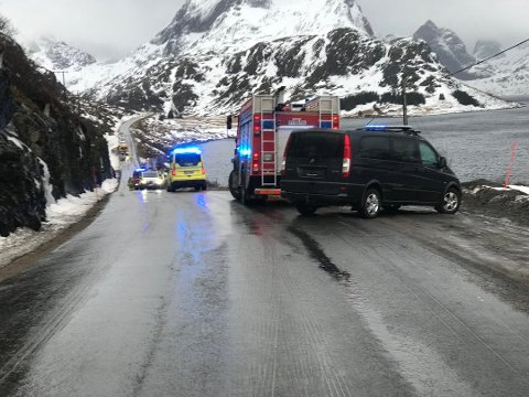 Ulykken skjedde i Sundsstraumen i Flakstad kommune.