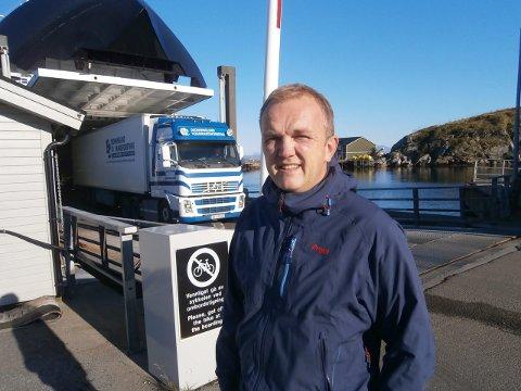 Bjørn Olvik i Nova Sea mener det er en skandale at utbedring av Bustneslia ikke prioriteres.