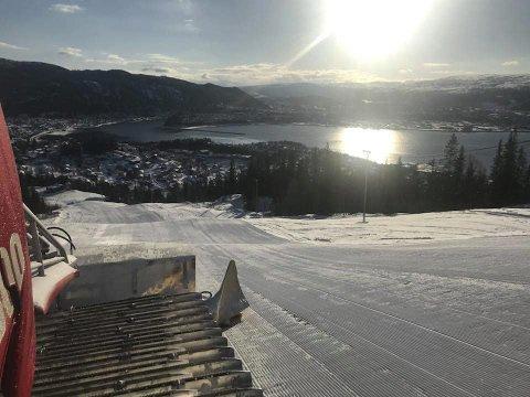 PÅSKE: Skillevollen Alpinsenter fikk 85 driftsdager denne sesongen.