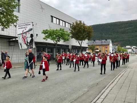 Båsmo og Ytteren skolekorps arrangerte Havmannen korpsfestival i helga. Over 450 musikanter og drillere samlet seg på Mo.