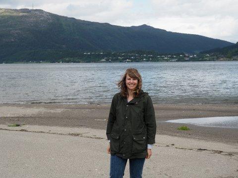 Kristin Valla: Forfatteren på Valla i Finneidfjord.