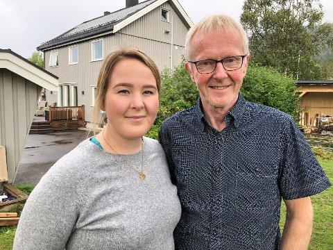 Elise og Olav Nyjordet fra MDG.
