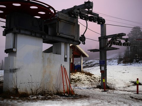 Heisene bare venter på at alpinsesongen på Skillevollen skal starte. Kommer bare snøen er man i gang for fullt før jul.