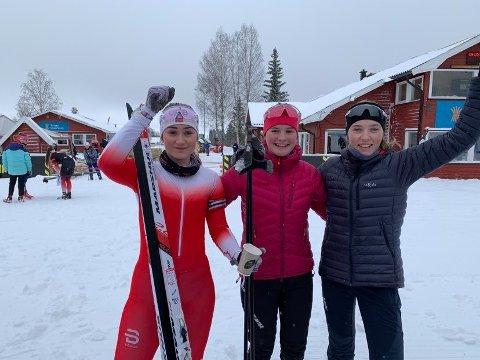 For laget gikk Tuva Andersen fra Bossmo & Ytteren og Skonseng UL-jentene Rikke Bolstad Kalkenberg og Kristine Sandstedt Ingebrigsten.