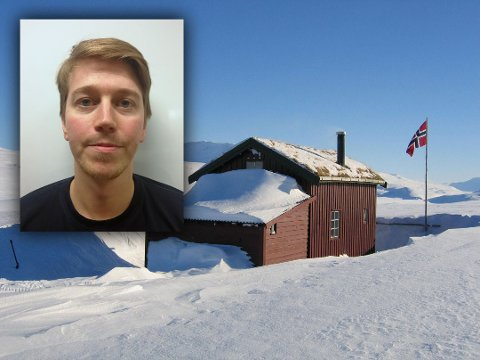 HYTTEINNLEGG: Vegard Lindberg Wollan (31) fra Narvik har fått mye respons på et leserinnlegg han skrev om hytteforbudet til regjeringen.