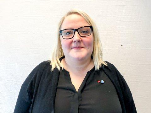 Stine Mathisen blir ny leder ved Nesna sykehjem. Det nye sykehjemmet skal stå klart til innflytting i høst.