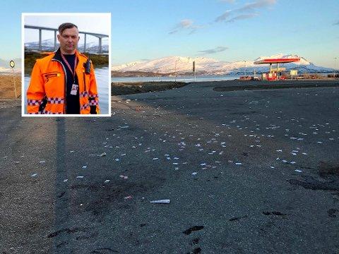 NOK: Driftssjefen ved Tromsø Lufthavn setter foten ned. Russen er ikke lenger velkommen.