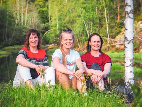 Ernæringsterapeutene Trine Dahlmo, Marte Jacobsen Åsland og Jessica Grønstad har alle satset på bedriften TD-metoden AS.