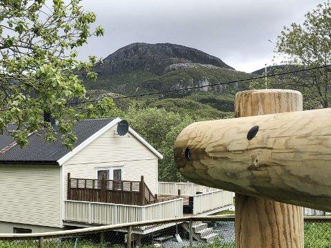 NØKKELBOKSTAV NR. 2: I dagens oppgave skal vil fram til et fjell, som ikke er blant de kjente på Nord-Helgeland.  Foto: Arne Forbord