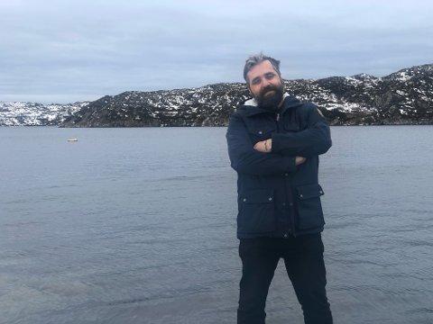 Blir en av Havfolket: Trænafestivalen har fått sej ny festivalsjef og neste uke setter Viggo Randal sine ben på øya for første gang. Festivalen har han så langt opplevd via bilder. - Det er en drømmefestival.