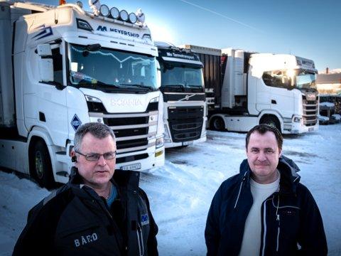 Tommy Lyngmo og Bård Trolid sier vedlikeholdet på vinteren i Bustenslia er for dårlig og at det bare er et spørsmål om tid før det går liv.