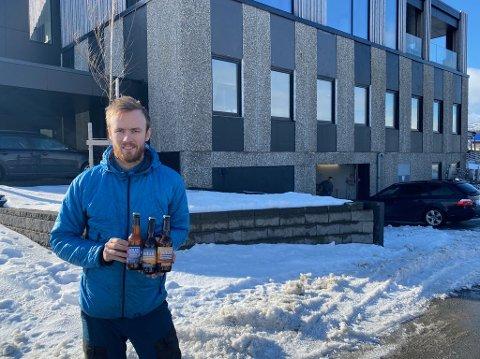 Kristian Sivertsen og Raus Bryggeri flytter inn i lokalene der Nesna Lobben ble produsert, åpner pub og skal ansette flere.