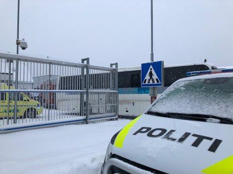 Det ble dramatisk da det brøt ut brann på en celle i Mosjøen fengsel fredag ettermiddag.
