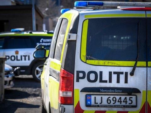 Politiet rykket ut torsdag formiddag for å bryte seg inn i et hus.