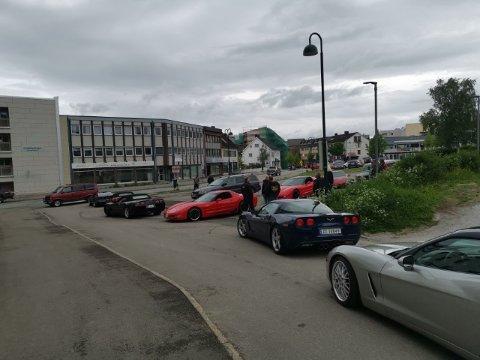 Midtnorsk Corvetteklubb har treff i Mo i Rana i helga.