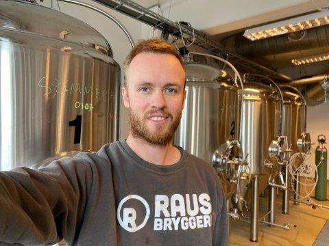 BLE MILLIONÆR: Kristian Sivertsen vant en million på flaxlodd.