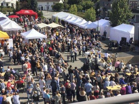 Godt besøkt: Innlandsmarkedet i Moelv er svært populært.