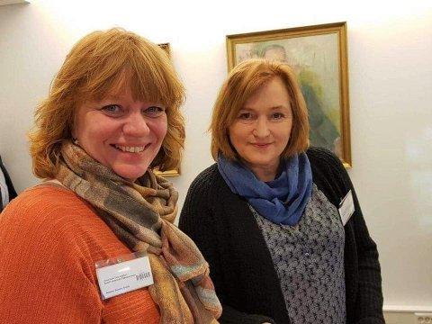 Til venstre, Anne Karin T. Adolfsen og Anne E. Thoresen