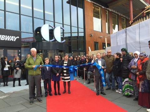 ÅPNINGEN: – CC Hamar stoppet handelsnedgangen, mener Einar Busterud. Her er et bilde fra åpningen for fem år siden.