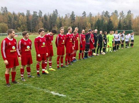 Spiller opprykkskamp: Brøttum spiller lørdag opprykkskamp for spill i 5. divisjon. Det kommer litt overraskende