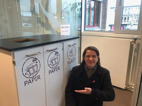 NY ORDNING: MDG-politiker Thomas Eriksen frykter ny søppelordning kan føre til mer brenning av søppel.