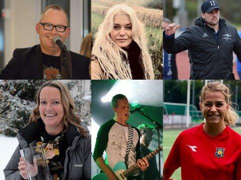 VARIERT: RB har spurt seks lokale profiler om de vil dele musikken de har hørt mest på i 2019 og det er varierte lister Trond Svendsen, Henriette Enger, Joachim Svendsberget, Beathe Johannessen, Bjørnar Lunna og Ingrid Kvernvolden kom opp med.