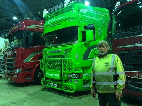Tillitsvalgt: Stein Helle i Stål & Spesialtransport håper på en løsning for mange av de ansatte.