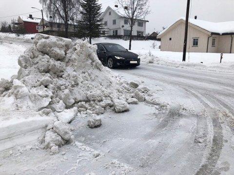 Pass opp for denne snøhaugene, advares det.