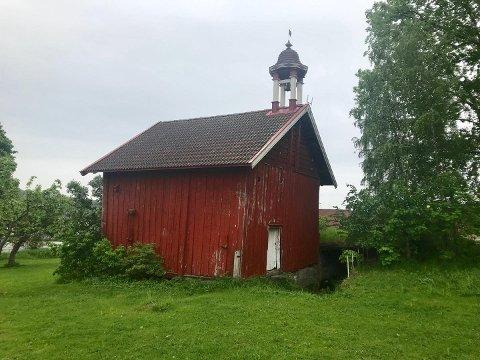 OPPUSSING: Odd-Amund Lundberg (Sp) etterspør hvilke planer kommunen har for stabburet på Mo gård.