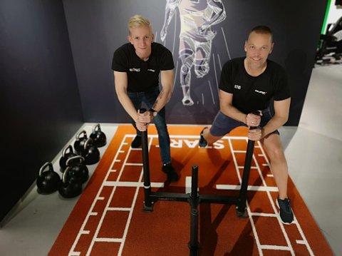 OFFENSIVE: Mudo har åpnet i Moelv og senterleder Mathias Westbakken er sammen med driver Stig Lyshaug optimistiske og tror at Mudo kommer til å bli suksess i Moelv.