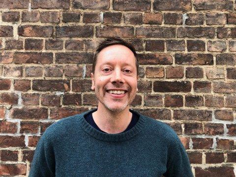 Frode Pleym, leder i Greenpeace Norge