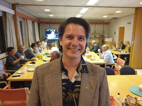 KOMMUNESTYRET: Thomas Eriksen (MDG) er en av de 39 som er med i kommunestyret i Ringsaker de neste fire årene. Se de resterende 38 her.