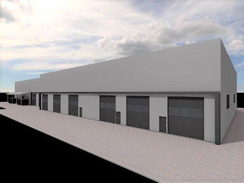 SLIK: Slik blir Volmax nye bygg i Nydal.
