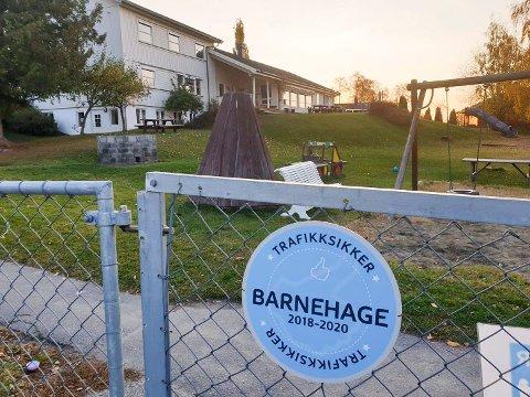 I KARANTENE: 24 barn og 8 ansatte i Furnes barnehage ved Kval er satt i karantene etter et mistenkt smittetilfelle.