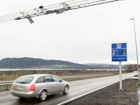VARSLER VIDEREFØRING: Det har vært gratis å passere bommen på Bergshøgda siden desember. Nå kan ordningen videreføres.