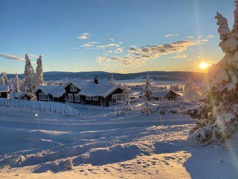 Meldt fint vær: Julaften er det meldt 6-7 minusgrader og sol på Sjusjøen. Det kan bli bra.