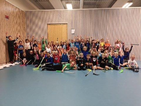 FRIR TIL DE YNGSTE: Brumunddal Innebandy er i stadig vekst og nå ønsker de å gi å introdusere de som fyller seks år i år for sporten. Etter ferien dras det nemlig i gang et prosjekt for 2014-kullet.