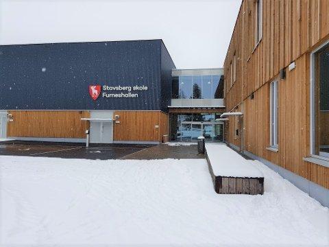 SKAL ØVE HER: Nødetatene skal blant annet øve på nye Stavsberg skole i Furnes.